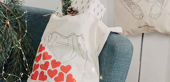 Colecione um dos nossas sacos ilustrados!